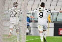 """Čempionų lyga: """"Juventus"""" 92-ąją minutę išplėšė pergalę prieš """"Ferencvaros"""""""