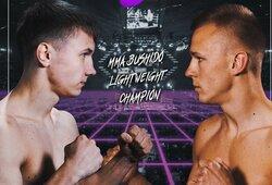 """Ž.Ramaška prieš O.Fedorovičių dėl """"MMA Bushido"""" pasaulio čempiono diržo: kas lems nugalėtoją?"""