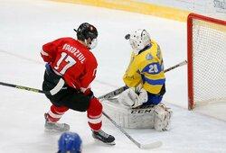 D.Bogdziulis JAV sužaidė sezono rungtynes, M.Kaleinikovas įvarčiu prisidėjo prie pergalės