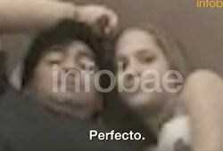 Paviešintas vaizdo įrašas galimai rodo, kad D.Maradona 16-metę laikė viešbutyje prieš jos valią, pradėtas tyrimas