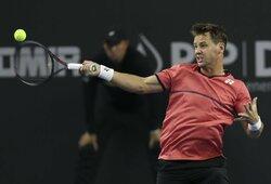 ATP 250 turnyras Maskvoje: R.Berankis – R.Carballesas Baena 2:6, 6:4, 2:1 (GYVAI)
