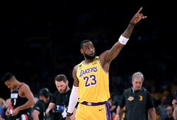 L.Jamesas bet kokia kaina nori pratęsti NBA sezoną