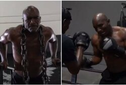 E.Holyfieldo atsakas M.Tysonui: sužavėjo sirgalius nauju treniruočių vaizdo klipu, kuriame užfiksuoti ir V.Kličko su A.Tarveru