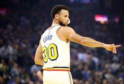 """D.Nelsonas: """"Niekada nemaniau, kad Curry taps lygos MVP"""""""