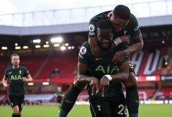"""""""Tottenham"""" užtikrintai susitvarkė su """"Sheffield Utd"""" futbolininkais"""