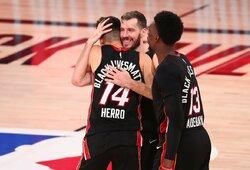 """Fantastiškai žaidęs """"Heat"""" naujokas priartino komandą prie NBA finalo"""