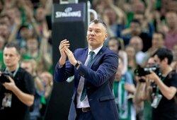 """Tik du rinktinės mačus matęs Š.Jasikevičius: apie """"Nevėžio"""" situaciją, """"Žalgirio"""" naujokus ir jaunuosius krepšininkus"""
