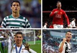 Pasitikrink savo žinias: kaip gerai pažįsti C.Ronaldo?