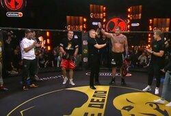 38 kg sunkesnis A.Jemeljanenka blogerį nugalėjo tik teisėjų sprendimu