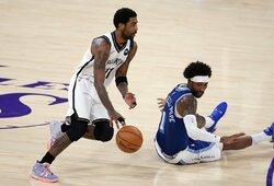 """K.Irvingas: """"Kobe turi būti ant NBA logotipo, lygą pastatė juodieji karaliai"""""""