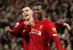 """Septynių įvarčių Liverpulio derbyje – įspūdinga """"Liverpool"""" pergalė"""
