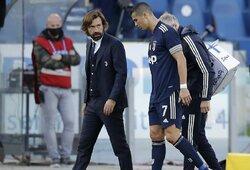 A.Pirlo atvirai pasisakė apie darbą su C.Ronaldo