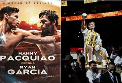 R.Garcia prieš M.Pacquiao: bokso pasaulyje bręsta superkova
