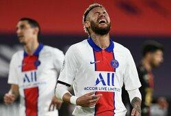 """Taškus praradęs PSG susikomplikavo galimybes apginti """"Ligue 1"""" čempiono titulą"""