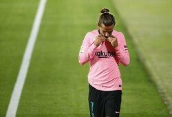 """Nuomonė: """"L.Messi trukdo atsiskleisti A.Griezmannui"""""""