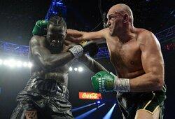 Teismas įpareigojo T.Fury kovoti prieš D.Wilderį, jo kova su A.Joshua atsidūrė aklavietėje