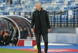 """""""Goal"""": Z.Zidane'as pasibaigus šiam sezonui paliks """"Real"""" klubą"""