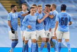 """""""Carabao"""" taurė: """"Man City"""" iš tolimesnių kovų eliminavo """"Bournemouth"""""""