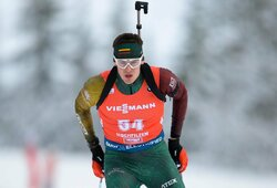 V.Strolia dar labiau papildė pasaulio taurės taškų kraitį, sprinte triumfavo J.T.Boe