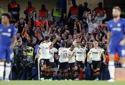 """Nesėkmingas startas Čempionų lygoje: 88-ą minutę baudinio nerealizavusi """"Chelsea"""" pirmą kartą istorijoje pralaimėjo """"Valencia"""""""