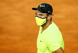 "93 pergales per 95 mačus ""Roland Garros"" turnyre turintis R.Nadalis sunerimęs: ""Čia labai šalta"""