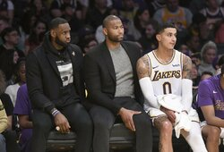 """""""Lakers"""" atleis D.Cousinsą ir pasikvies kitą NBA žaidėją"""