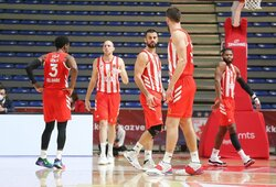 """""""Crvena Zvezda"""" privertė CSKA patirti dar vieną pralaimėjimą"""