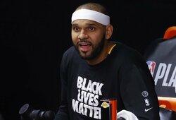 """Lakers"" garbę toliau gins J.Dudley"