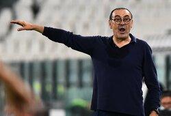 """Oficialu: po nesėkmės Čempionų lygoje """"Juventus"""" atleido M.Sarri"""