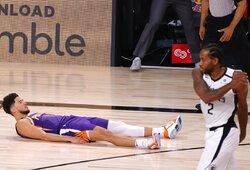 """""""Suns"""" metimu paskutinę sekundę įveikė """"Clippers"""" ekipą"""