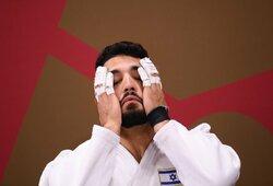 Dar vienas įtartinas atvejis olimpiadoje: prieš Izraelio sportininką atsisakė kovoti jau antras atletas
