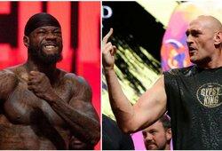Kova dėl sunkiasvorių bokso pasaulio čempiono diržo: D.Wilderis – T.Fury (GYVAI)