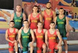 """Lietuvos imtynininkai pasaulio čempionate kovoja su """"Nike"""" aprangomis"""
