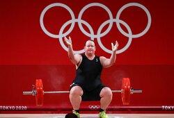 Translytės debiutas olimpiadoje: trys nesėkmingi bandymai ir dužusios viltys