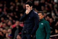 """M.Arteta: """"Arsenal"""" finišuoti """"Premier"""" lygos stipriausiųjų ketverte bus labai sudėtinga"""""""