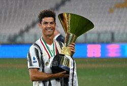 """M.Keanas negailėjo liaupsių C.Ronaldo: """"Jis yra geras žmogus"""""""