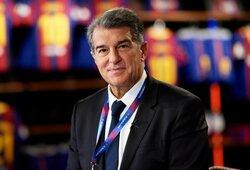 """Naujuoju """"Barcelonos"""" prezidentu buvo išrinktas J.Laporta"""