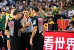 """Išgirskite: Lietuvos rinktinės sirgalių """"linkėjimai"""" FIBA"""