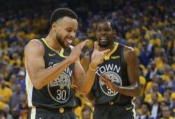 """S.Kerras įvardijo geriausią """"Warriors"""" sudėtį per jos dominavimo laikotarpį"""