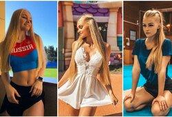 """Į olimpiadą nusitaikiusi Rusijos karatė gražuolė: """"Girtuoklius pamokau taip, kad jiems nereikėtų į ligoninę"""""""