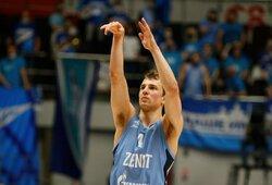 """K.Pangosas paliko """"Zenit"""" komandą"""