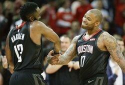 """""""Rockets"""" NBA klubams siūlo tris komandos žaidėjus"""