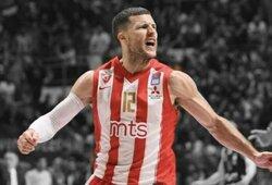 """Pamatykite: B.Baronas paskutinę sekundę išplėšė """"Crvena Zvezda"""" Serbijos čempionų titulą"""