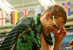 E.Matakas drebina Europą: iškovojo antrą aukso medalį