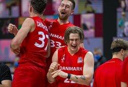 Dar vienas netikėtumas: Lietuva nusileido Danijos rinktinei