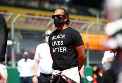 """""""Red Bull"""" vadovas tikisi L.Hamiltono atsiprašymo, čempionas artėja prie diskvalifikacijos"""