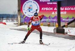 Lietuviai pradėjo pasaulio jaunių biatlono čempionatą