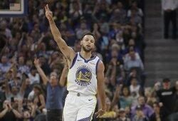 """M.Jordanas: """"Curry dar nėra Šlovės muziejaus narys"""""""