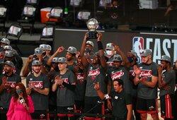 """""""Heat"""" pateko į NBA finalą"""