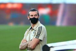 """G.Bale'as paliktas už borto ir nežais Čempionų lygos aštuntfinalio rungtynėse prieš """"Man City"""""""